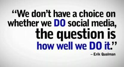 Social media is necessary